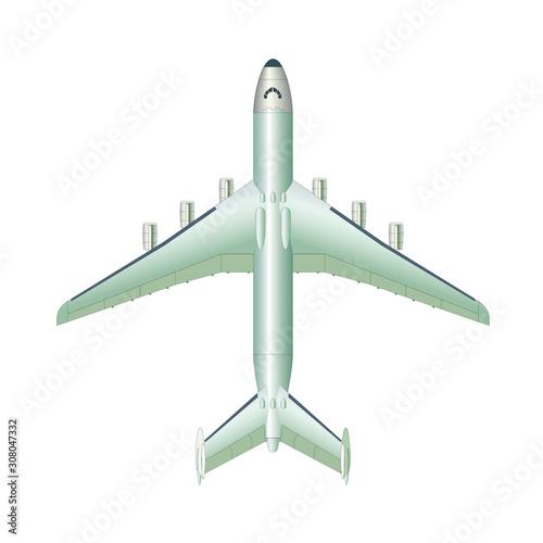 Antonov airplane Canvas Print
