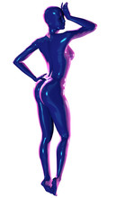 3d Illustration Of Fashion Model With Painted Body
