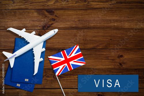 Fotografie, Tablou  Visa to Britain concept