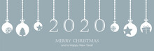 2020 Greeting Card With Hangin...