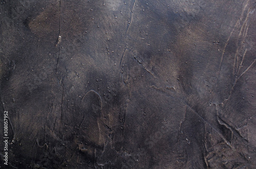 Old texture of black wood. Vintage. Background. Backdrop. Wallpaper Mural
