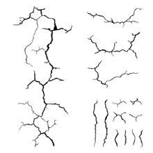 Cracks Ground For Abstract Bac...