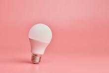 Light Bulb, Copy Space. Energy...