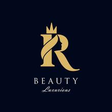 Initial R Luxury Beauty Queen ...