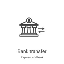 Bank Transfer Icon Vector From...