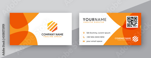modern business card design Fototapeta