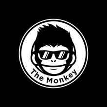 Cool Monkey Wearing Glasses Logo Vector Design Illustration. Monkey Head/face Icon. Ape Face Icon. Monkey Emblem Vector