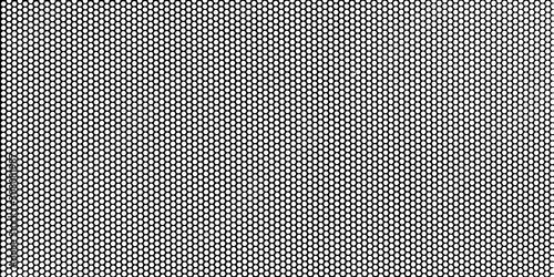 Obraz na plátně Black metal plate with dots
