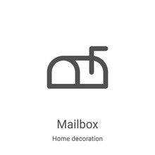 Mailbox Icon Vector From Home ...