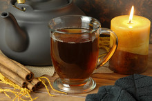 Cup Of Tea In Clear Glass Mug ...