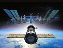 Soyuz Docking ISS