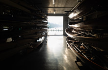 Rowing Boathouse Overlooking T...