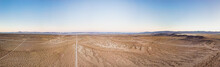 Panoramic Drone View Of The De...