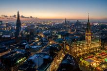 Hamburg At Christmas With The ...