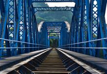 Iron Bridge For Train.