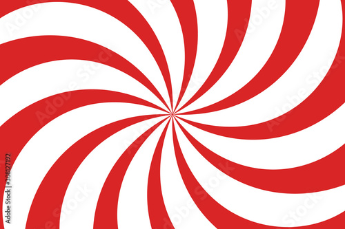 Photographie Vector Christmas background. Candy cane, lollipop pattern.