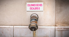 Columns Dry Stairs B Pipe In F...