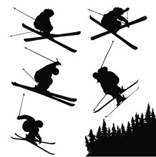 Vector Silhouettes Of Extreme ...