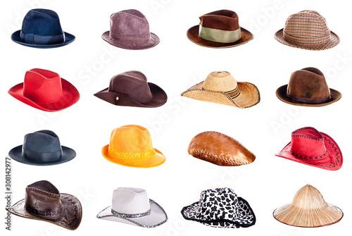 Tablou Canvas hat collection