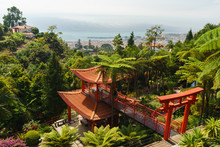 Oriental Japan Garden In Japanese, Buddhist And Shinto Style, Funchal, Madeira, Portugal