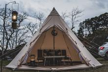秋のキャンプ