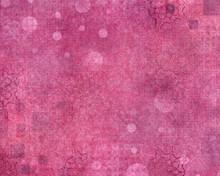 Hot Pink Textured Abstract Bac...