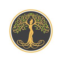 The Goddes Tree Logo, Nature L...