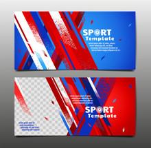 Sport Layout , Template Design...