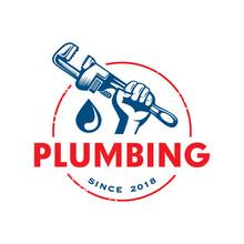Plumbing Logo, Plumbing Service Logo
