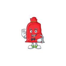 Santa Bag Close Character On A...