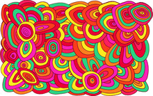 Circles Doodle Pattern. Multic...