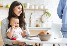 SuMillennial Mother Working On...