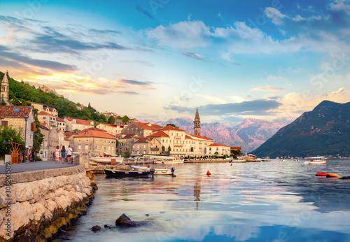 Fotomural City and bay of Kotor