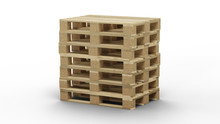 Some Standard Wood Pallet Stra...