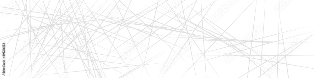Grey and white simple banner background