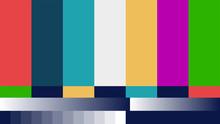 Fake Abstract No Signal TV Ret...