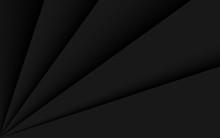 Black Background With Line Shadow Design. Vector Illustration. Eps 10