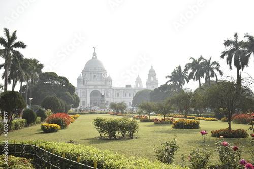 Victoria memorial,Kolkata an old Architectural style Wallpaper Mural