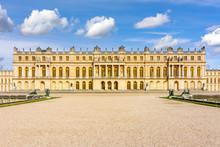 Versailles Palace Facade, Pari...