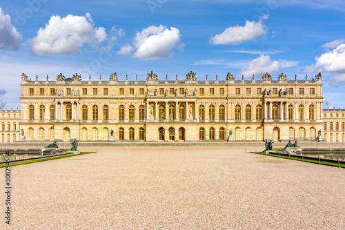 Versailles palace facade, Paris, France