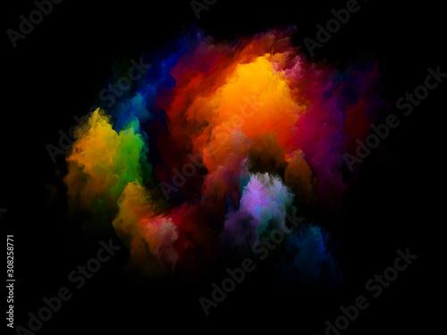 Obraz Advance of Color - fototapety do salonu