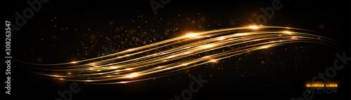 Glint cosmic rays Obraz na płótnie