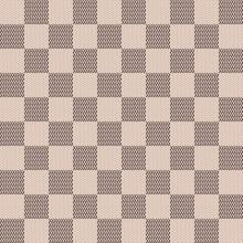 Seamless Chessboard Pattern. C...