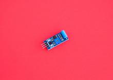 Normally Closed Vibration Sensor Module For Arduino, Alarm System DIY