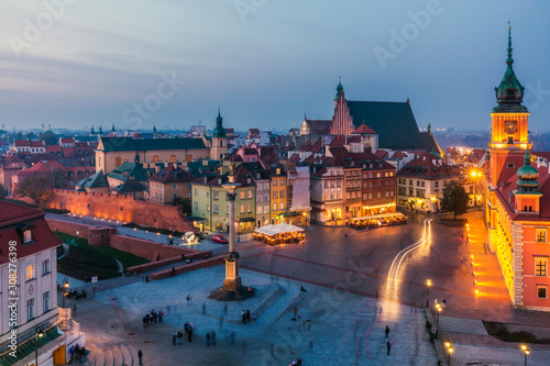 Fototapety, obrazy: Warsaw old town