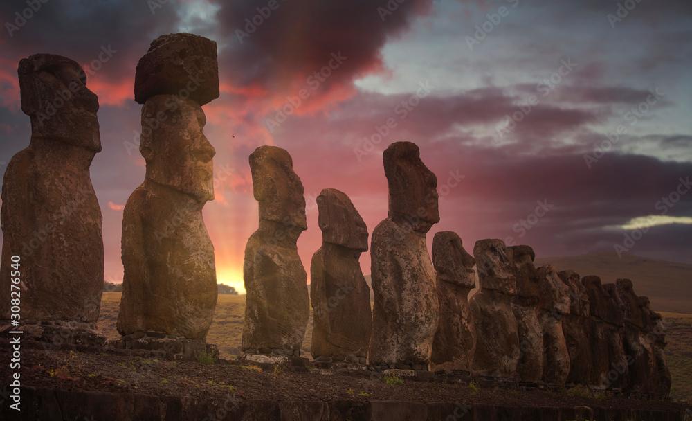 Fototapeta Easter island