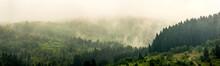 A Carpathian Landscape At The ...