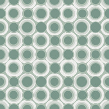 Abstract Repeating Circles. Vector Spotty Seamless Pattern.