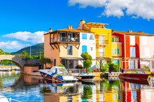 View Of Colorful Houses And Bo...