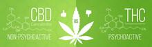 CBD (cannabidiol) Cannabis Mol...